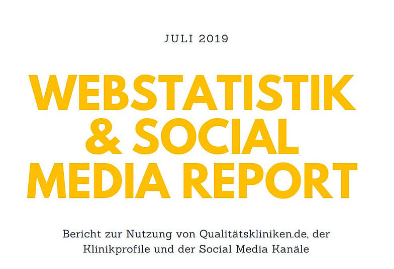 Webstatistik & Social Media Report Juli 2019