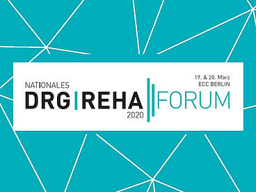 Logo Nationales DRG Reha Forum 2020