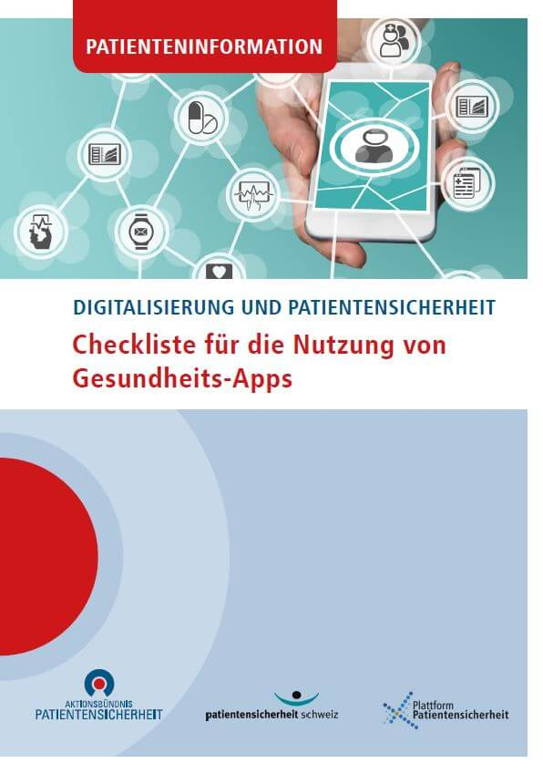 Titelbild Patienteninformation Aktionsbündnis Patientensicherheit